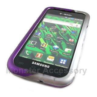 Purple Flowers Hard Case Cover Samsung Galaxy S i9000