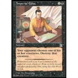 Edict (Magic the Gathering   Portal Three Kingdoms   Imperial Edict