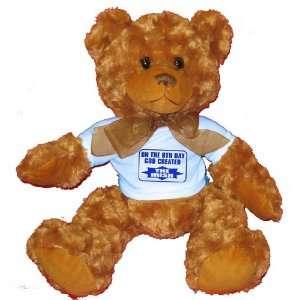 GOD CREATED THE IRISH Plush Teddy Bear with BLUE T Shirt Toys & Games