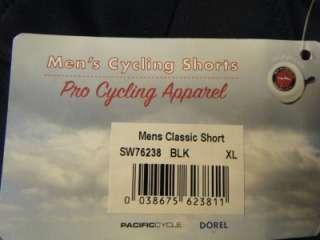 MENS SCHWINN PRO CYCLING PADDED BIKE BICYCLE SHORTS SMALL MEDIUM XL