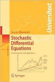 Stochastic Differential Equations An Introduction with Applications