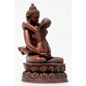 Buddha Shakti, Red finish   Large