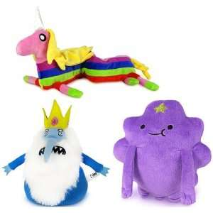 Adventure Time With Finn & Jake Plush Set Of 3 Toys & Games