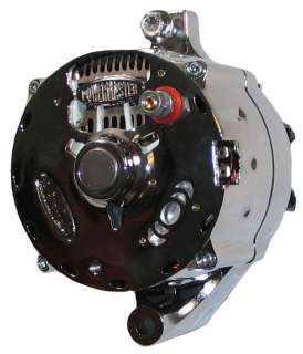 NEW POWERMASTER ALTERNATOR,POLISHED,SERPENTINE,140AMP,FORD,LINCOLN