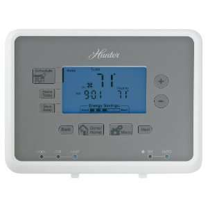 Hunter 44905 Universal 7 Day Programmable Thermostat: Home Improvement