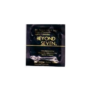 200 Beyond Seven Sheerlon Natural Rubber Latex Condoms, Extra Thin and