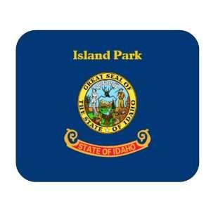 US State Flag   Island Park, Idaho (ID) Mouse Pad