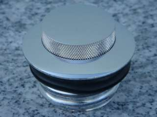 chrome pop up gas cap to fit harley davidson all models with single