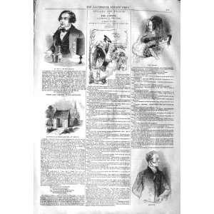 1843 MR LOVE POLYPHONIST GREVILLE COWPER OLNEY GRANGE