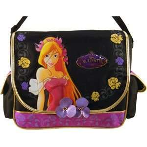 Prety Giselle Black Messenger Bag Toys & Games