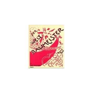 für symphonische Musik. Bruno Taut 9783786117988  Books