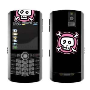 Pink Crossbones Decorative Skin Decal Cover Sticker for