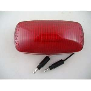 Red 12 LED 4 Truck Trailer Side Marker Clearance Light / Red