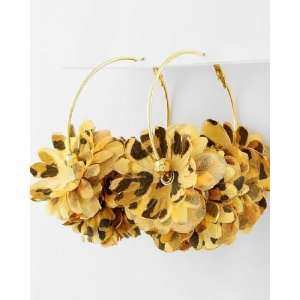 Basketball Wives / POParazzi Inspired Gold Tone Hoop Earrings ~ Bushy