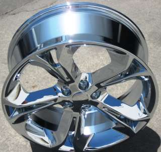 FACTORY FORD TAURUS CHROME OEM WHEELS RIMS 2010 2012 EXCHANGE STOCK