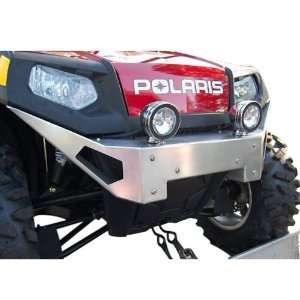 Polaris Rzr front bumper NEW aluminum Silver