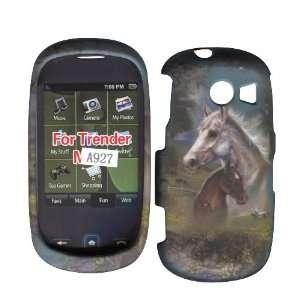 2D Racing Horses Samsung Flight 2, II A927 Case Cover Hard