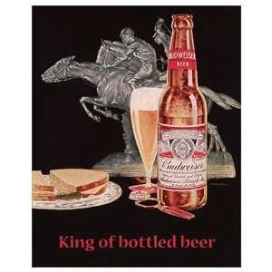Vintage   Budweiser Beer: Home & Kitchen
