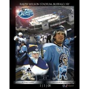 Sidney Crosby Plak   24X36 Winter Classic Sports