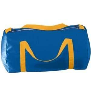Small Canvas Sport Bag   Royal, Gold