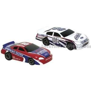 Life Like HO Scale Fast Tracker Slot Car Twin Pack   Ford
