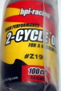NEW Baja High Performance 2 Cycle Oil 100cc 5B SS HPI