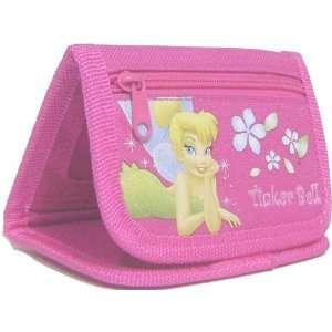 Tinker Bell Tri fold Pink Wallet