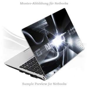20,5x13,5cm   Chrome Tunnel Notebook Laptop Vinyl Sticker Electronics