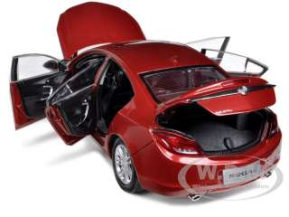 2010 BUICK REGAL 2.4L RED JEWEL TINTCOAT 1/18 DIECAST MODEL CAR BY