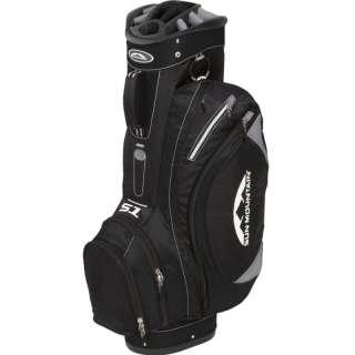 2011 Sun Mountain Golf S 1 Cart Bag   Black