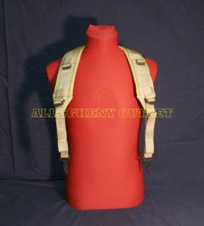 USGI US MILITARY ARMY DESERT TAN LBE H SUSPENDERS NEW