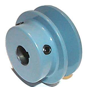 NEW 2.5 OD 5/8 Fixed Bore A Cast Iron Pulley Maska