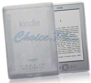 Clear Flexi Grip Gel TPU Skin Case Cover For  Kindle 4 4th
