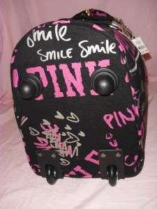 NWT Victorias Secret LOVE PINK Graffiti 21 WHEELIE Duffle Bag