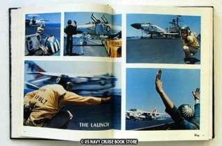 USS FORRESTAL CVA 59 MEDITERRANEAN CRUISE BOOK 1975