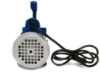 Deep Vacuum Pump 1 Stage A/C HVAC Air Refrigerant R410a R134