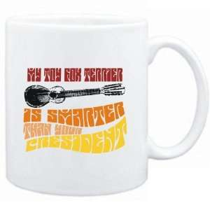 Mug White  My Toy Fox Terrier is smarter than your president  Dogs
