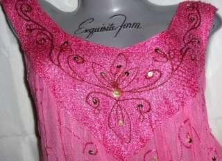 pink~BOHEMIAN~goth~PUNK~BOHO~tie dye~BABYDOLL~peasant~DRESS~top