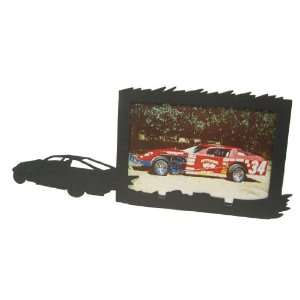 MODIFIED RACE CAR 4X6 Horizontal Picture Frame: Home
