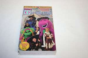 Barneys Classic Collection, Once Upon A Time, VHS