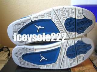 Nike Air Jordan Retro IV 4 Military Blue Sz. 9.5 dave white lebron
