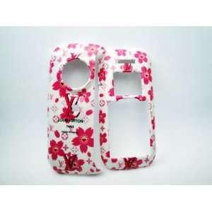 VX9900 White Pink Flower Luxury Design Case Cell Phones & Accessories