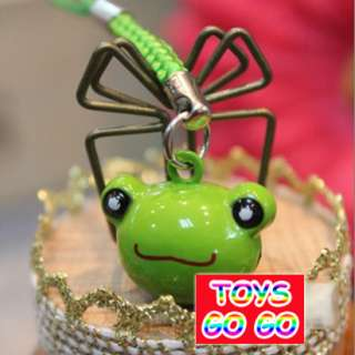 ONE Frog Bell Bag Cell Phone iphone Strap Charm,Kid,Party Favor Supply