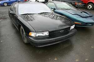94 96 Chevrolet Impala SS Complete Front End Clip with Fenders Bumper