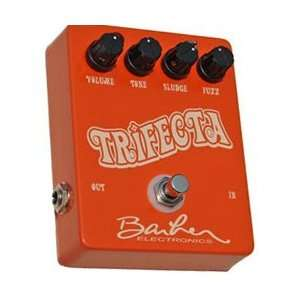 Barber Trifecta Fuzz Effect Pedal