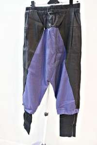 Garcons comme le fashion Deep Rise Zip leg des pants bl