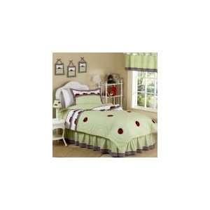 Ladybug Parade 4 Piece Twin Comforter Set   Girls Bedding