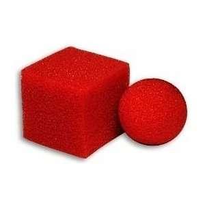 Ball Square Mystery   Sponge Magic Trick Toys & Games