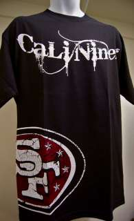 Cali Niners San Francisco 49ers Black T Shirt Tshirt L XL 2XL 3XL 4XL