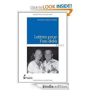 Lettres pour lau delà (French Edition): Geneviève Anglerot Godeau